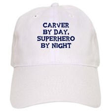 Carver by day Baseball Cap