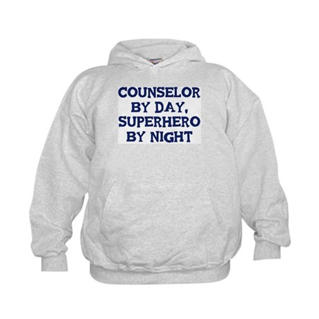 Counselor by day Kids Hoodie