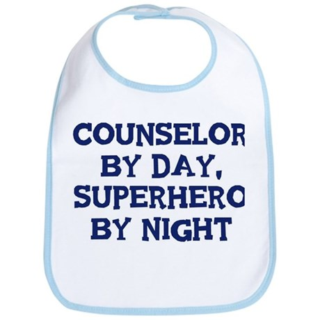 Counselor by day Bib