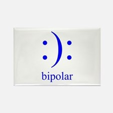 Cute Bipolar disorder Rectangle Magnet