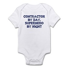 Contractor by day Infant Bodysuit