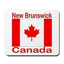New Brunswick Flag Canada Mousepad