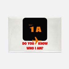 *NEW DESIGN* Do You Know Who Rectangle Magnet