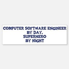 Computer Software Engineer by Bumper Bumper Bumper Sticker
