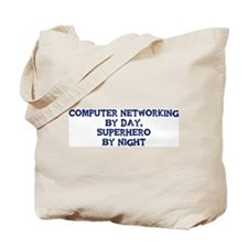 Computer Networking by day Tote Bag