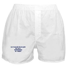 Database Manager by day Boxer Shorts