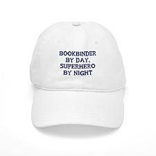 Bookbinder by day Baseball Cap