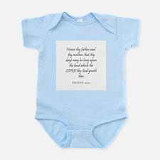 EXODUS  20:12 Infant Creeper