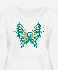 Cervical Cancer Butterfly T-Shirt