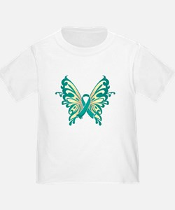 Cervical Cancer Butterfly T