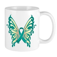 Cervical Cancer Butterfly Mug