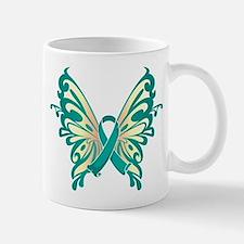 Cervical Cancer Butterfly Mug