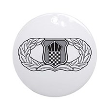 Air Traffic Control Ornament (Round)