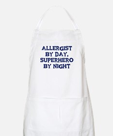 Allergist by day BBQ Apron
