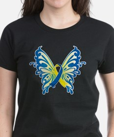 Down Syndrome Butterfly Tee