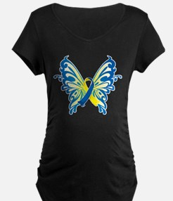 Down Syndrome Butterfly T-Shirt
