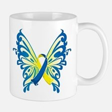 Down Syndrome Butterfly Mug