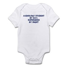 Audiology Student by day Infant Bodysuit