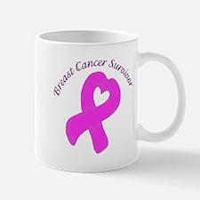 Breast Heart Survivor Mug