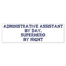Administrative Assistant by d Bumper Bumper Sticker