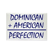 Dominican American heritage Rectangle Magnet