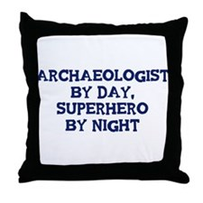 Archaeologist by day Throw Pillow