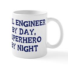 Civil Engineer by day Small Mug