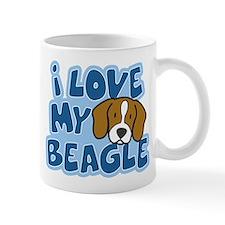 I Love my Beagle Mug (Cartoon)