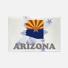 All Star Arizona Rectangle Magnet