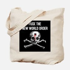 Funny New world order Tote Bag