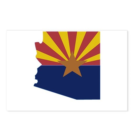 Arizona Stripe Custom Design Postcards (Package of