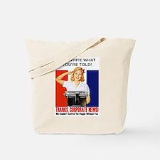 Funny Fema Tote Bag