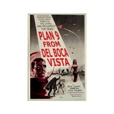 Plan 9 From Del Boca Vista Retro Magnet