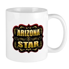 Arizona Star Gold Badge Seal Mug