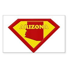 Super Star Arizona Rectangle Decal