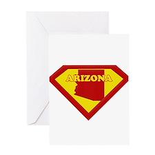 Super Star Arizona Greeting Card