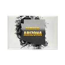 Pimpin' Arizona Rectangle Magnet
