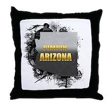 Pimpin' Arizona Throw Pillow
