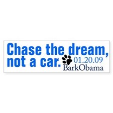 Bark Obama bumper sticker