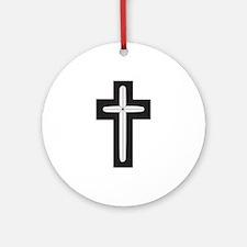 Christian Chaplain Ornament (Round)