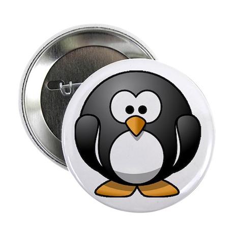 "Chubby Penguin 2.25"" Button"
