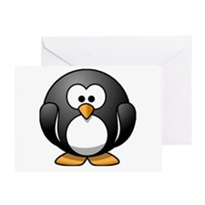 Chubby Penguin Greeting Card