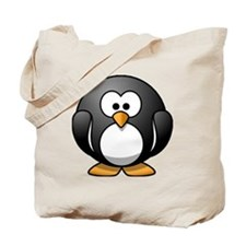 Chubby Penguin Tote Bag