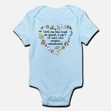 Until One Has Loved An Animal Infant Bodysuit