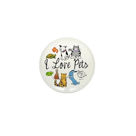 Pet Lover Mini Button