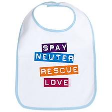 Spay Neuter Rescue Love Bib