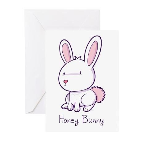 Honey Bunny Greeting Cards (Pk of 20)