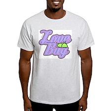 Love Bug Ash Grey T-Shirt