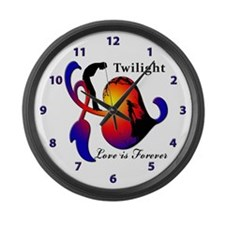 TWILIGHT Large Wall Clock