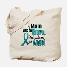 Angel 1 TEAL (Mom) Tote Bag